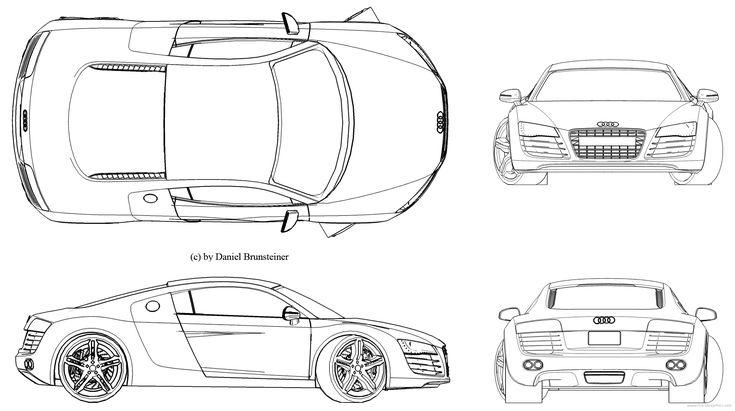 2011 challenger Cars blueprints Pinterest - copy car blueprint website