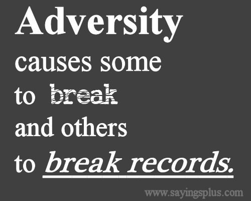 30 inspiring quotes about dealing with adversity!