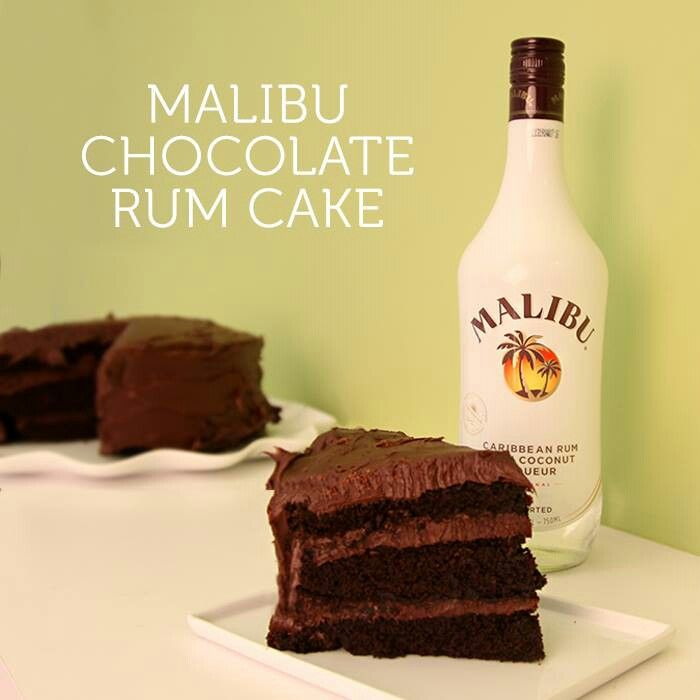 Cake 1 Package Devil S Food Cake Mix 1 2 Cup Malibu Rum 1