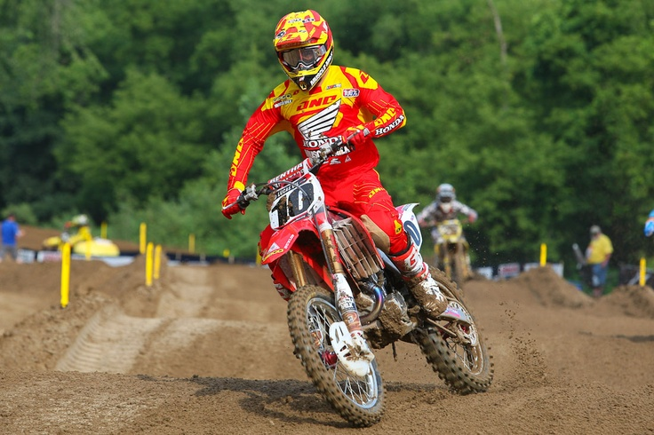 « Spring Creek 2012: Practice Report | Features, Motocross, News, Photos | Transworld Motocross. Love the pop of colors on Brayton's gear!