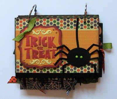 Of Cats and Cardstock: Halloween Mini Album