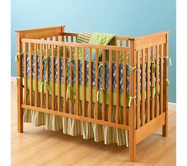 Natural Straight Up Crib