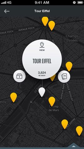 City Guides / National Geographic / #app / Rally Interactive http://rallyinteractive.com/