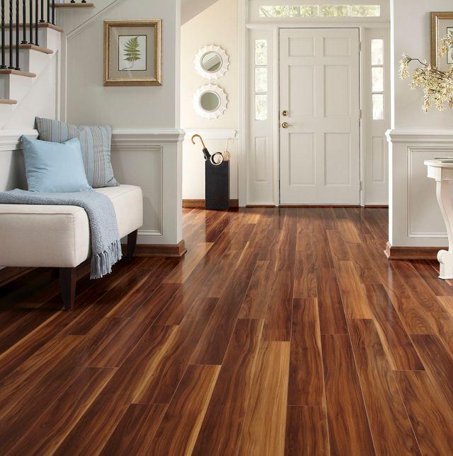how to clean dark engineered wood floors