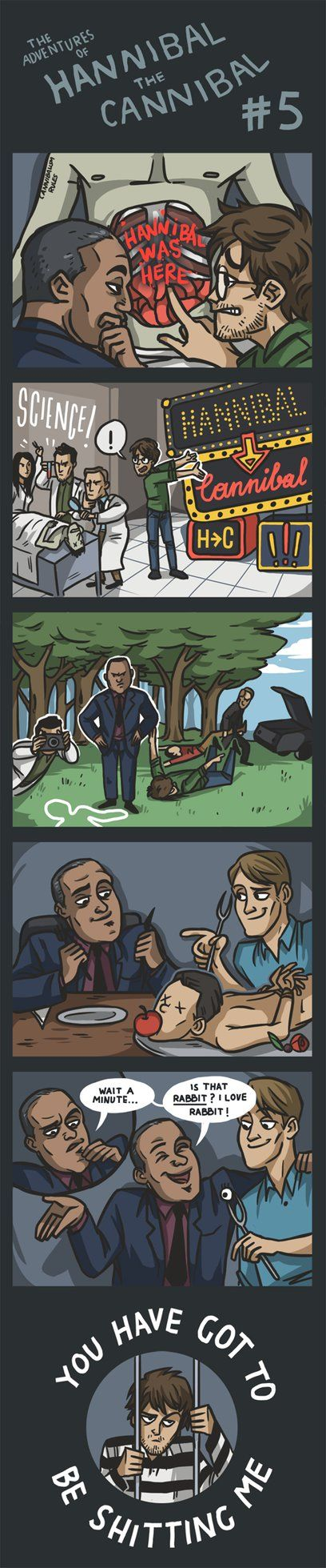 The Adventures of Hannibal the Cannibal #5 by ekzotik on deviantART E: Poor, poor, poor Will.