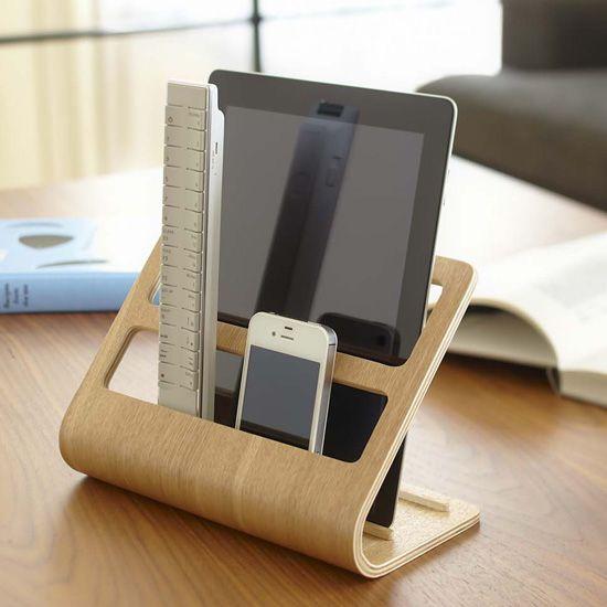 Ställ för iPad, fjärrkontroll och mobil