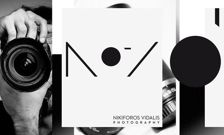 Σχεδιασμός Λογοτύπου και Επαγγελματικής Κάρτας για τον Nikiforos Vidalis Photography.  #logo #logodesign #newlogo #branding #brandingidentity #businesscard #cardvisit #photography #videography