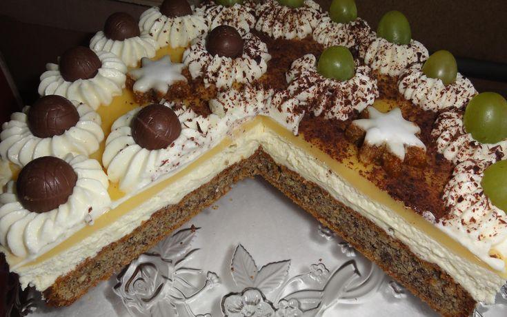 Tort cu lichior de oua  (Eierlikörtorte)