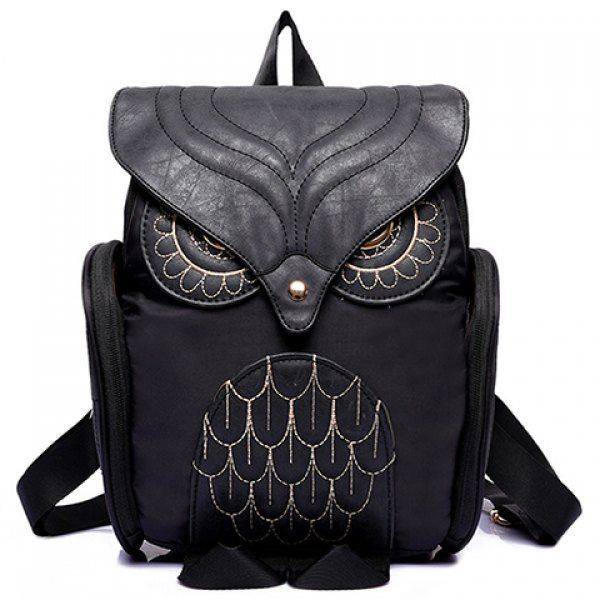 Not usually into the animal styled purses, backpacks, etc, but this one is pretty cool! $18.99 Stylish Owl Shape and Solid Color Design Women's Satchel