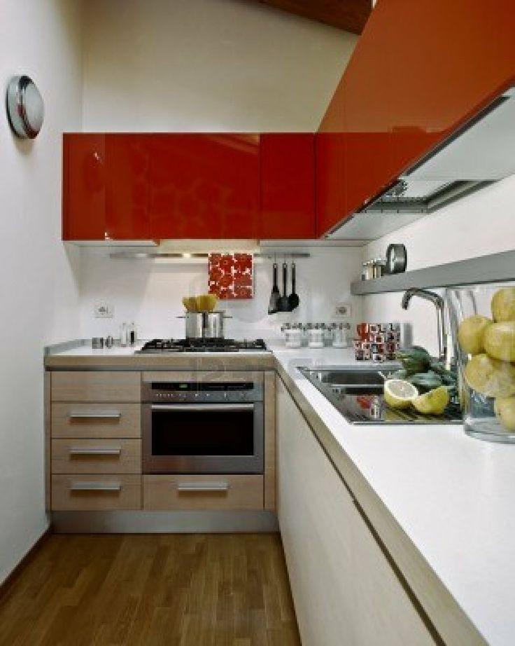 Una cocina peque a no tiene por qu renunciar a nada una for Cocinetas para cocinas pequenas