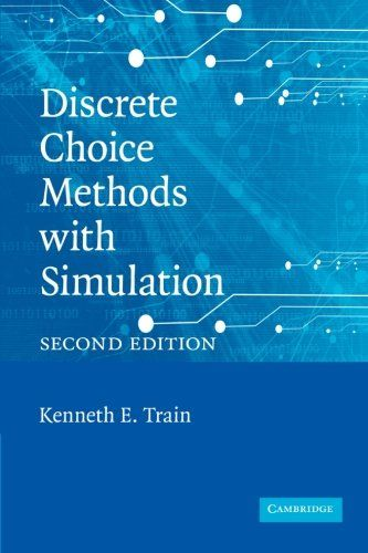 discrete choice methods with simulation