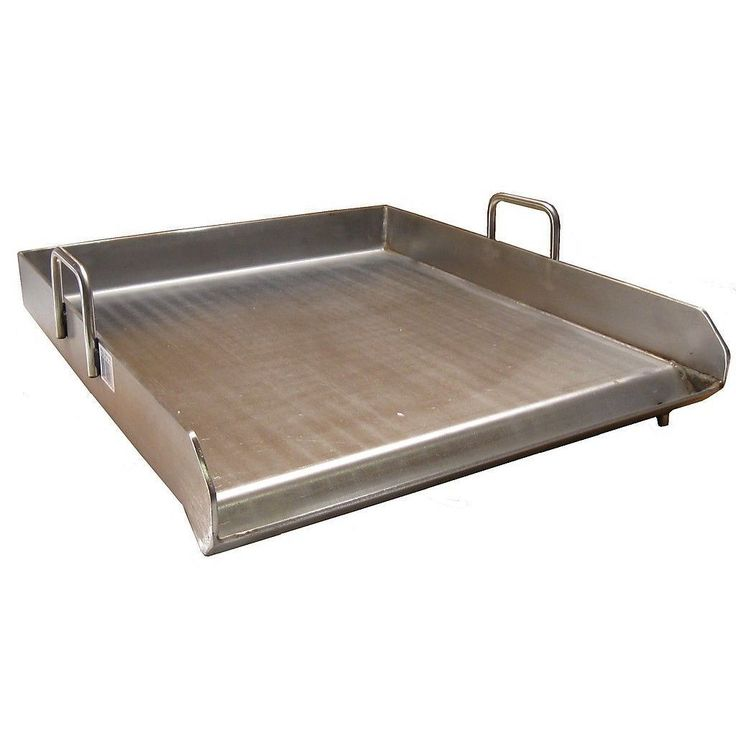 Heavy Duty Stainless Steel Single Burner Flat Top Griddle | Overstock.com Shopping - The Best Deals on Grilling Tools & Cookware