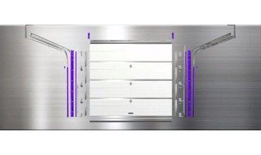Porte de garage prix usine L 2375 x Ht 2150