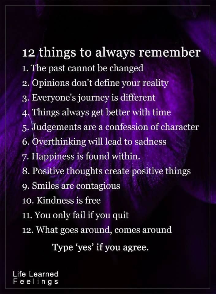 12 things to always remember... | Quotes | Life Quotes ...