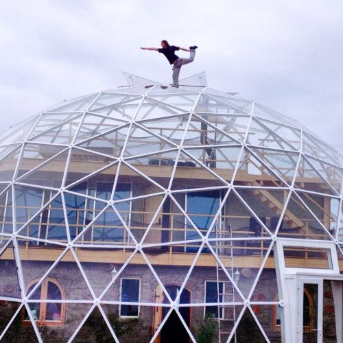 Dome Home Building Kits: SOLARDOME PRO Geodesic Dome Eco Home, Norway