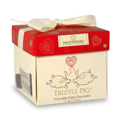 Valentines Day Loveable chocolate box with our yummy piglets