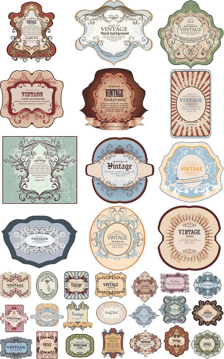 vintage-labels-vector