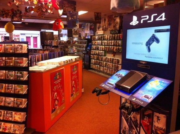 Eerste PlayStation 4 demo stand in Nederland