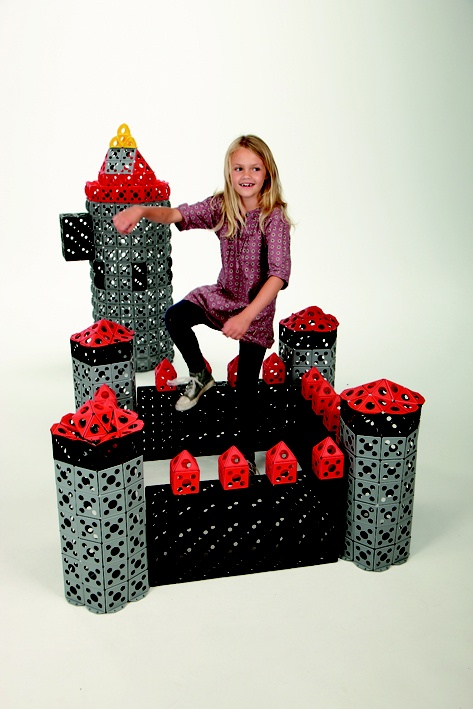 It took a while to build this beautiful castle!