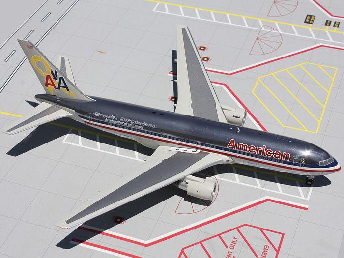 GeminiJets 1:200 American Airlines Boeing 767-200 Veterans ...