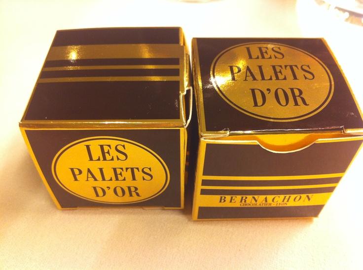 Les palets d'or by Bernachon