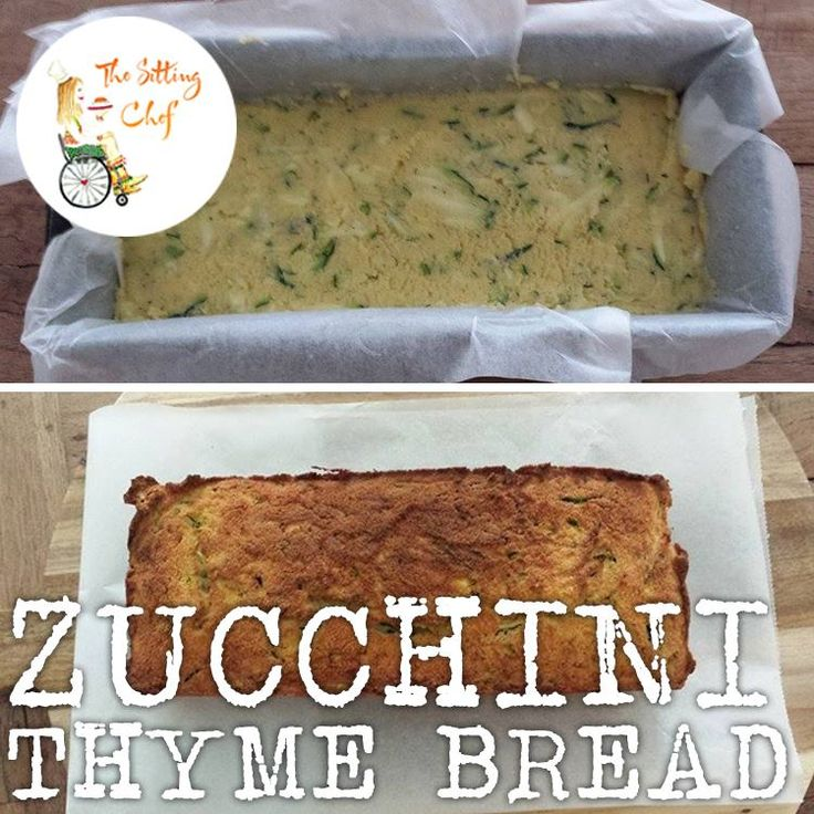 Sunday Food Prep: Zucchini-Thyme and dried Tomatoes Bread. Sooo good! For recipe see The Sitting Chef Facebook page: https://www.facebook.com/pages/The-sitting-Chef/777817912250638?ref=hl