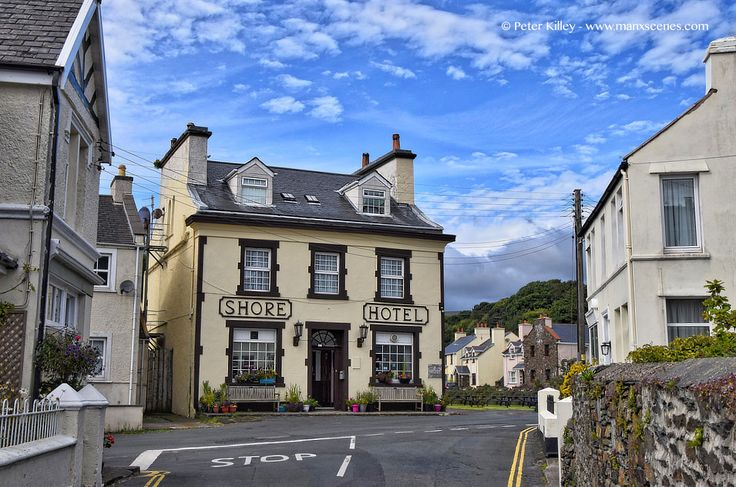 Shore Hotel in Old Laxey © Peter Killey - www.manxscenes.com