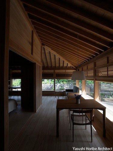 House in chihara|市原の家‐縁側 堀部安嗣