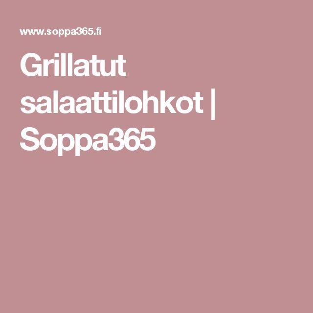 Grillatut salaattilohkot | Soppa365