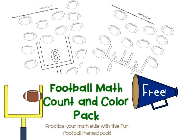 Did you hear about math worksheet answers football