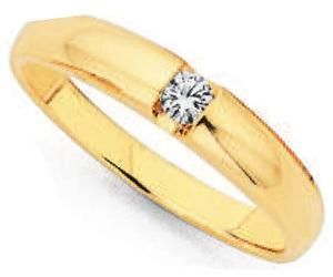 Elegance and style - Totally lovin' this .1ct Diamond ring!