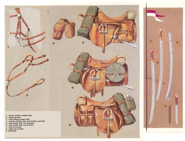 Cavalry uitrusting.