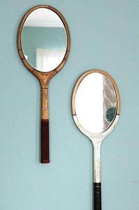 Ótima ideia para os amantes de tênis!