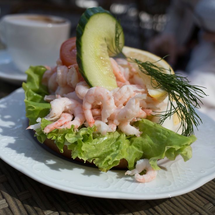 A classic Swedish prawn sandwich #räkmacka #räksmörgås ------- HB Must have sandwich while in Sweden, can be found in many places.
