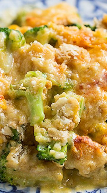 Broccoli Cheddar Chicken (Cracker Barrel Copycat) (Cheese Casserole Ritz Crackers)