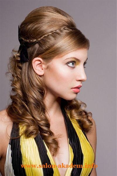 """Прически в греческом стиле на длинные волосы #Фото Вернуться в раздел """"Причёски в греческом стиле"""" http://www.salon-akadem.info/pricheski-v-grecheskom-stile-na-dlinnye-volosy.php"""