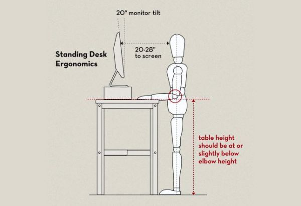 Get Things Done While Standing - 10 DIY Standing Desk Designs To Get You Inspired