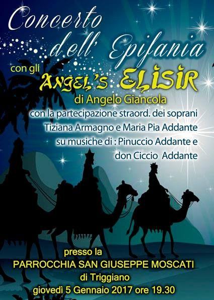 Concerto dell'Epifania con gli 'Angel's Elisir' -Triggiano - BARI -