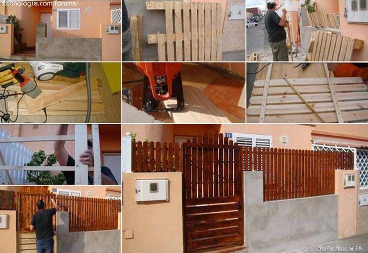 Idées éco deco avec récuperation de palettes de bois : Recyclage ...
