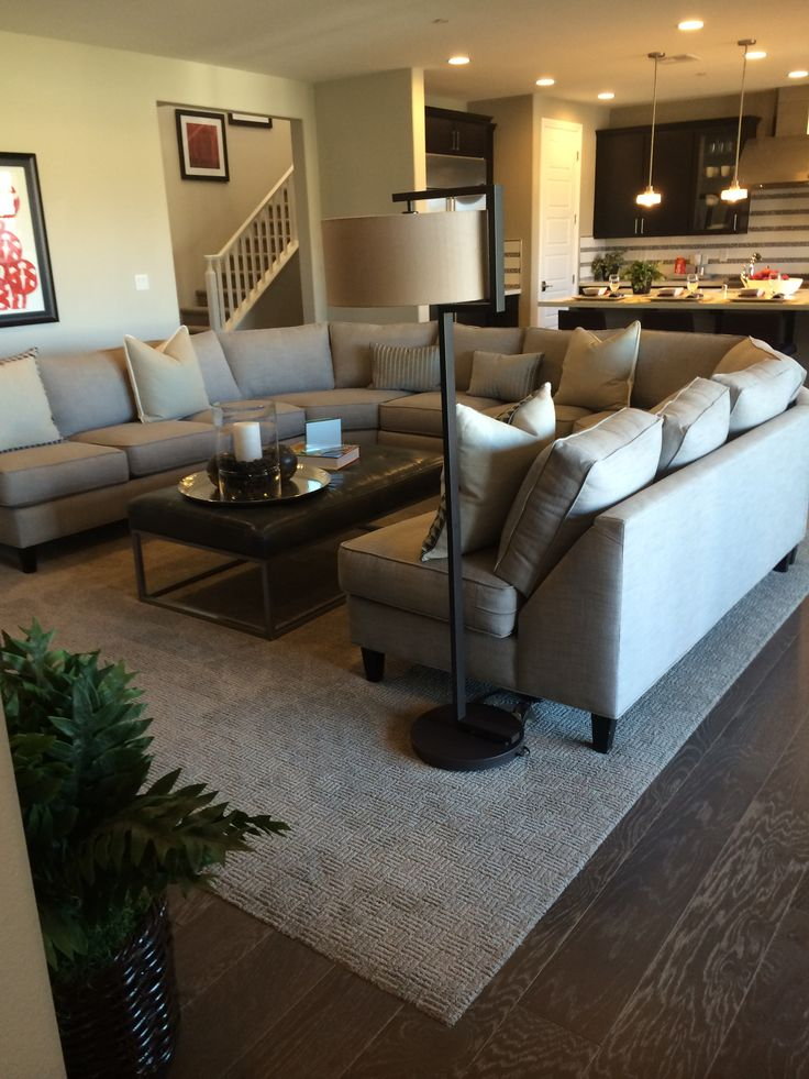 Large Living Room Furniture Layout