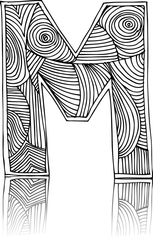 56 best Alphabet Coloring Pages images on Pinterest ...