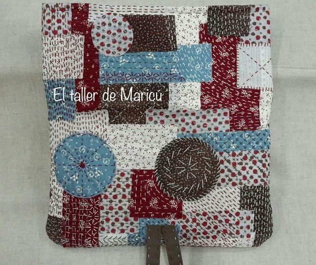 El taller de Maricú: Boro Clutch bag...