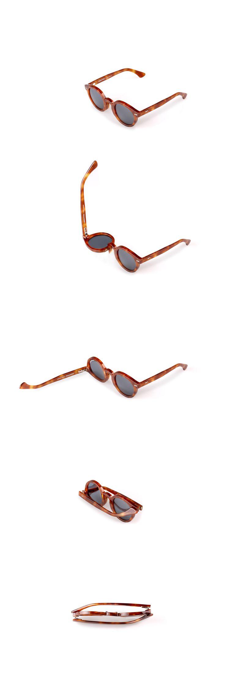 Movitra 315 - Havana chiaro con lente blu #sunglasses #movitra #movitraspectacles #spectacles #glasses #eyewear