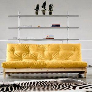 Rozkládací sofa Fresh přírodní/amarillo