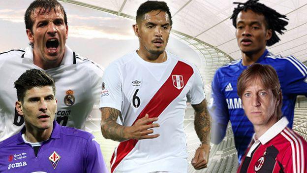 Los grandes jugadores con los que Juan Vargas compartió vestuario. (Depor)