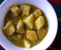 Puerco en salsa verde