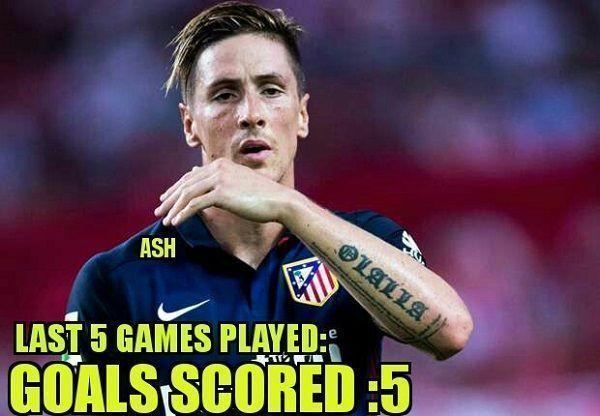 Wróciła skuteczność hiszpańskiego napastnika • Fernando Torres w 5 ostatnich meczach dla Atletico Madryt strzelił 5 goli • Zobacz >> #football #soccer #sports #pilkanozna