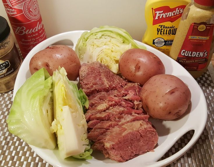 Pressure Cooker corned beef and cabbage - thisoldgal