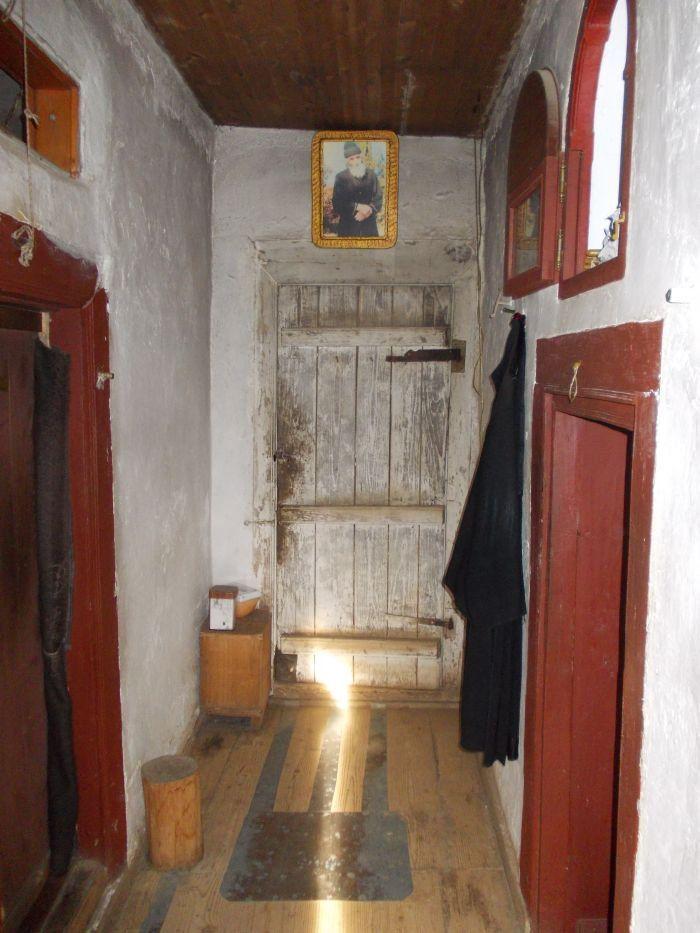 Το εσωτερικό του Κελιού του Γέροντος Παϊσίου στο Άγιο Όρος