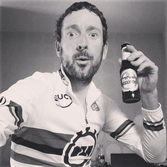 The 2014 ITT World Champion, Bradley Wiggins, has a 1 man party. (via Bradley Wiggins on Instagram)